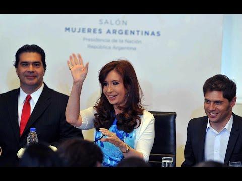'Social' - 18 de diciembre de 2014, Buenos Aires: En un acto realizado hoy en el Salón Mujeres Argentinas del Bicentenario de la Casa de Gobierno, la presidenta Cristina Fernández de Kirchner anunció...