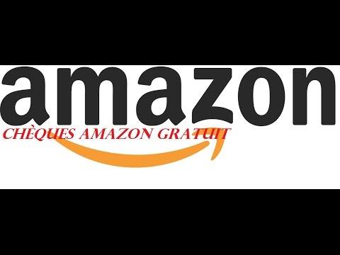Chèques Cadeaux Amazon Gratuit
