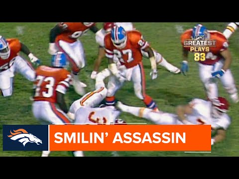 Steve Atwater stops Christian Okoye in his tracks | #NFL100 Greatest Plays