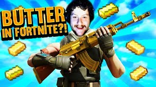 RAGE QUITTING NEW FORTNITE BUTTER MODE!!