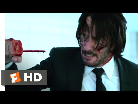 John Wick: Chapter 2 (2017) - Pencil Kill Scene (6/10) | Movieclips