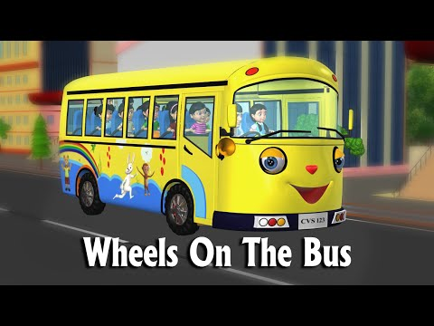 go - Wheels on the bus Go Round And Round New - 3D Animation Nursery Rhymes & Songs For Children THE WHEELS ON THE BUS LYRICS : The wheels on the bus go Round and round... round and ...