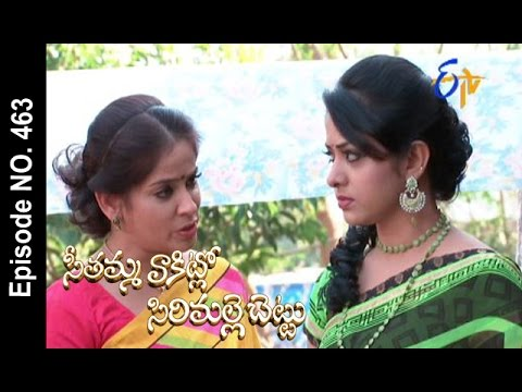 Seethamma Vakitlo Sirimalle Chettu|27th February 2017 |Full Episode No 463
