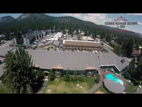 The Sierra Nevada Resort and Spa Arial View