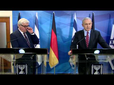 PM Netanyahu39s meeting with German MFA Frank-Walter Steinmeier