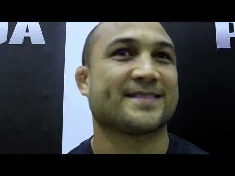 BJ Penn Says Matt Hughes is His Favorite Rivalry