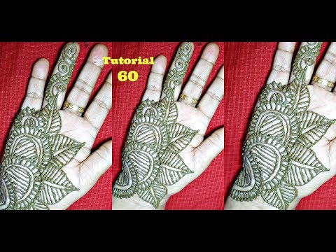 Video Repeatable Shaded Arabic Henna Mehndi Design download in MP3, 3GP, MP4, WEBM, AVI, FLV January 2017