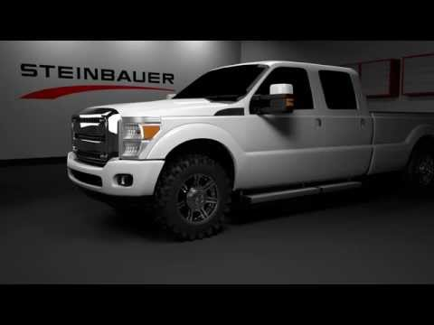 Steinbauer Performance Module Installation on a F350 pickup truck