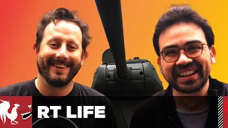 Gus and Geoff Ride a Tank - RT Life