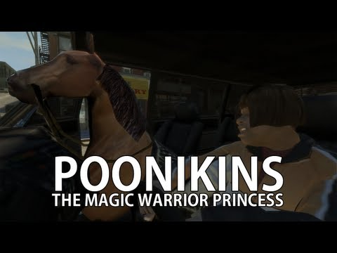 Poonikins The Magic Warrior Princess (GTA 4 Mod)