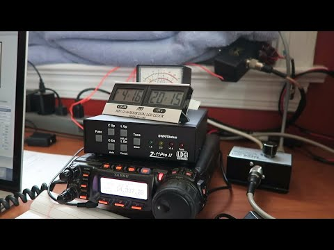 Making Ham Radio Contacts | Macloggerdx | FT-857 | CQ WW WPX SSB Ham Radio Contest