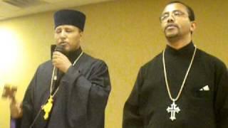 Ethiopian Orthodox Tewahedo Christian Kid In Austin USA Praying In Geez,