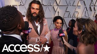 Jason Momoa Brought A Scrunchie To The Oscars Because He's Ready To Party! | Access