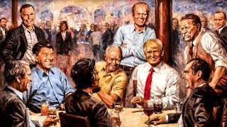 Donald Trump Literally Hung This Bizarre Painting In His White House