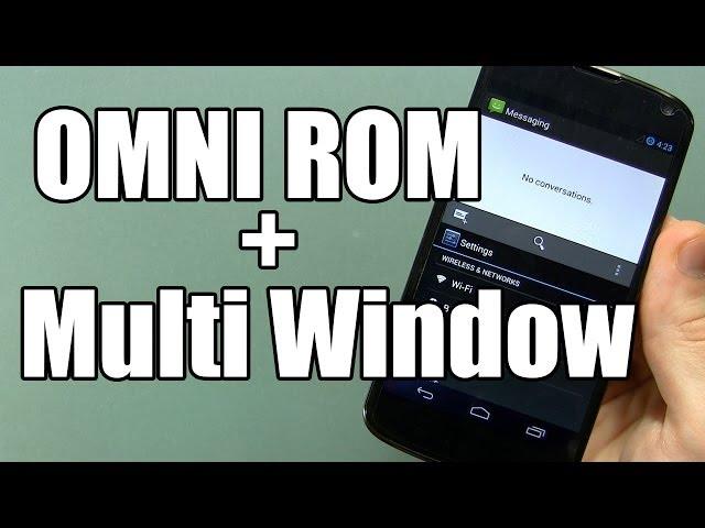OMNI ROM Beta for NEXUS 4