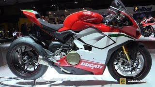 9. 2018 Ducati Panigale V4 Speciale - Walkaround - Debut at 2017 EICMA Milan Motorcycle Exhibition
