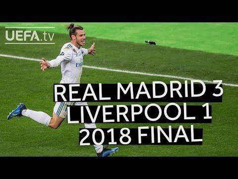ZIDANE'S THIRD TRIUMPH: REAL MADRID 3-1 LIVERPOOL, UCL 2018 FINAL HIGHLIGHTS