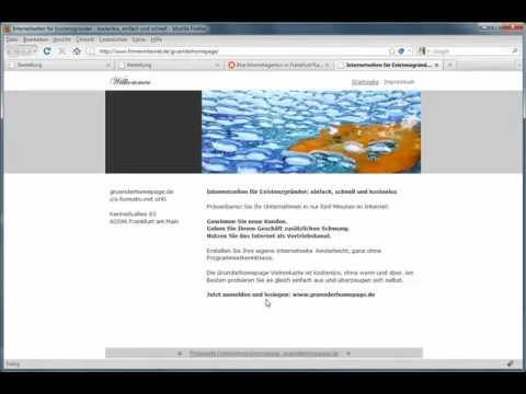 Internetseite – Homepage erstellen kostenlos – Gratis Website