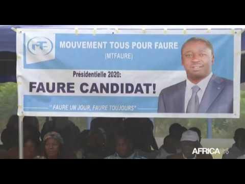 Togo, INVESTITURE POUR LA PRÉSIDENTIELLE DE 2020