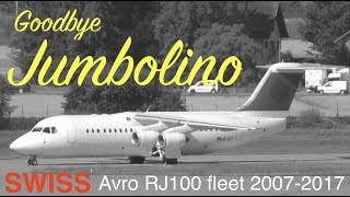 It has been predicted quite a while ago, but at last it all went very fast: SWISS is retiring their fleet of the Avro RJ100. On August the ...