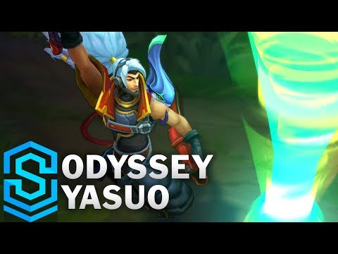 Yasuo Kiếm Khách Không Gian - Odyssey Yasuo Skin