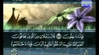 المصحف المرتل 06 للشيخ سعد الغامدي  حفظه الله