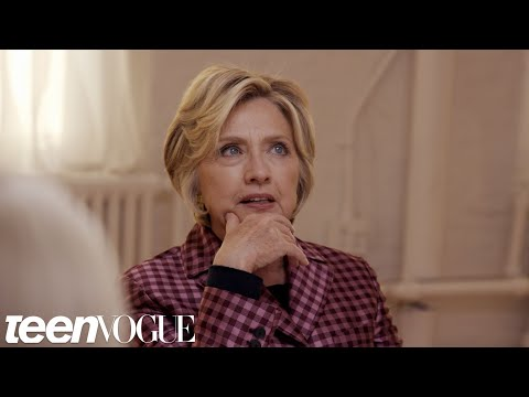 Hillary Clinton On Why She's Not Running For President Again   Teen Vogue