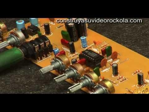 preamplificador - Esta es la prueba del preamplificador para guitarra con distorsionador hecho en casa y que se enseña a construir en la página http://construyasuvideorockola....