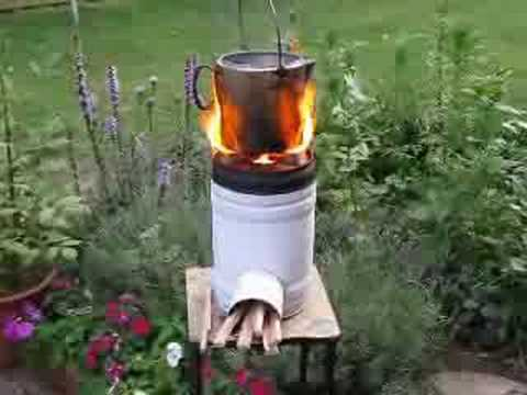 Rocket Stove Demo