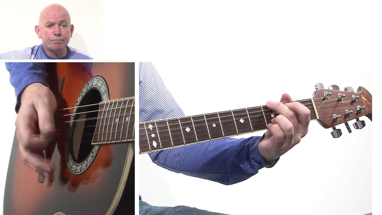 David Bowies Heroes. Acoustic Guitar Lesson. Video 2