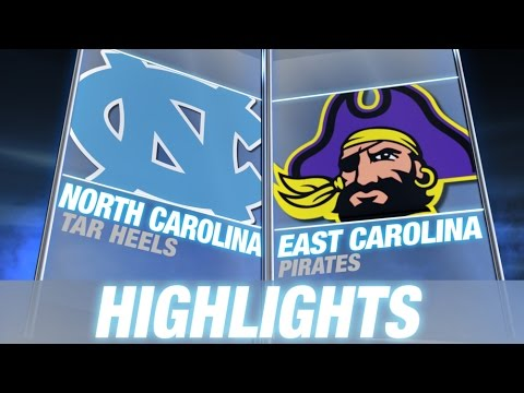 North - The East Carolina Pirates put a beating on instate rivals North Carolina on Saturday, taking down the Tar Heels 70-41. ECU QB Steve Carden threw for 438 yards and 4 touchdowns while UNC QB...