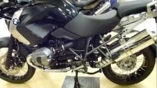 10. 2013 BMW R 1200 GS ''Triple Black'' Special Model 110 Hp 200+ Km/h 124+ mph * see also Playlist
