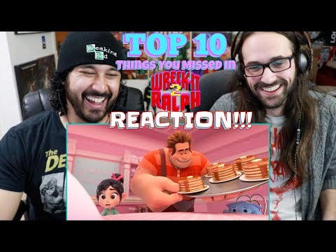 TOP 10 Things You MISSED In Wreck It Ralph 2: RALPH BREAKS THE INTERNET - REACTION!!!