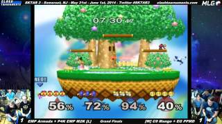 One of the best Doubles Set in Melee History. SKTAR 3 Grand Finals- Mew2king + Armada vs Mango + PPMD