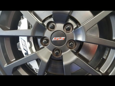 2014 Chevy SS - CTS-V Wheel Center Cap Install