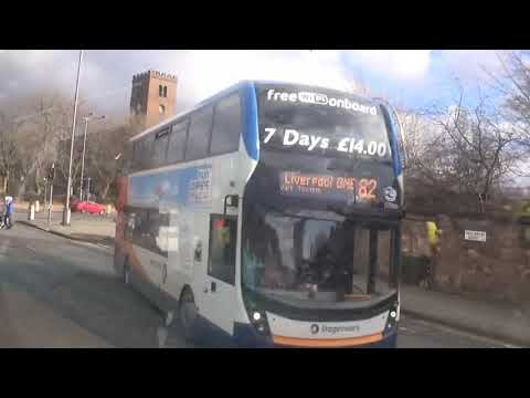 On The Buses Of Liverpool #27 L1 Bus Station To Lodge Lane. Saturday 17 February 2018