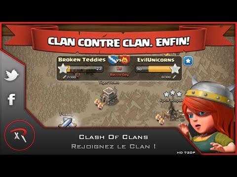 comment declarer la guerre clash of clans