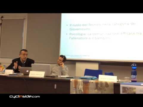 Paolo Aprilini presenta il lavoro Quaderno per il Tecnico di 1° livello, con esercizi fuoristrada