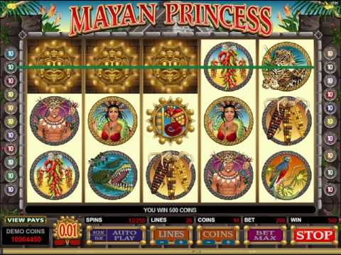 モバイルカジノHappistar - Mayan Princess Video Slot