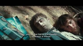 Nonton A great scene from Daniel Radcliffe's Swiss Army Man Film Subtitle Indonesia Streaming Movie Download