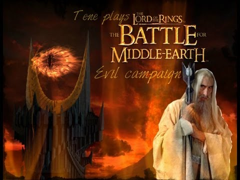 rise of isengard - Today we play LotR The Battle for Middle-Earth. Evil Campaign - easy (due to the fact it allows one episode per battle instead of like really in depth battle...
