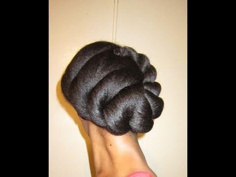 Jumbo Cornrow Hairstyles 1 jumbo flat twist tutorial