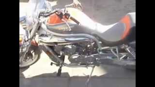 7. 2007 Hyosung GV650 Avitar walk around/start-up