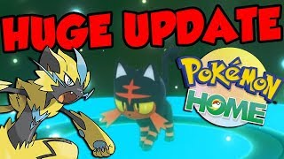 POKEMON HOME RELEASE DATE SOON! UNRELEASED POKEMON ARE TRADABLE In Pokemon Sword and Shield! by Verlisify