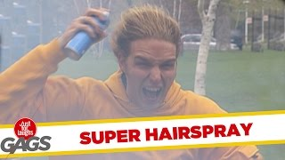 Throwback Thursday - Super Hairspray Prank