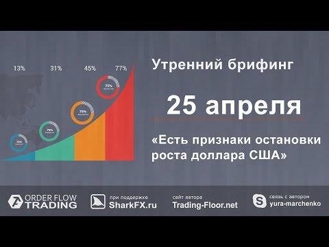 Утренний брифинг от 25 апреля. Обзор рынка форекс и fоrтs - DomaVideo.Ru