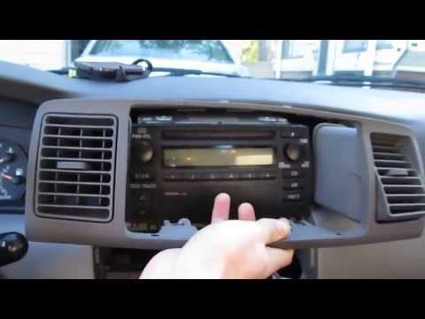 2003-2008 Toyota Corolla Car Stereo Upgrade [1 of 3]