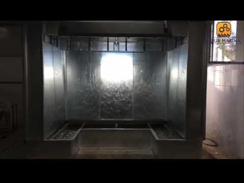 Water Curtain Wet Painting Booth