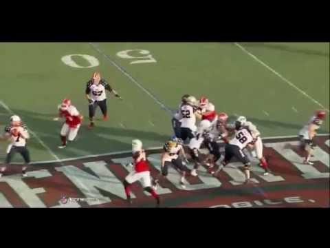 Kyle Juszczyk @ Senior Bowl 2013 video.