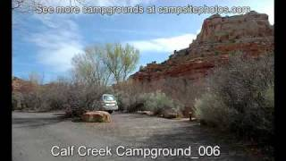 Calf Creek Campground, Grand Staircase/Escalante National Monument